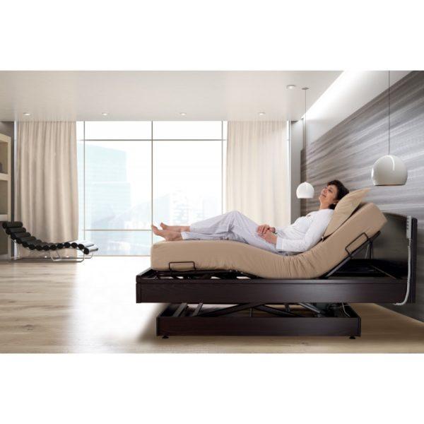 Lit de relaxation à hauteur variable
